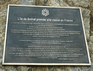 Plaque Bréhat