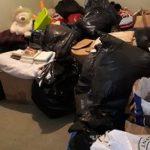 La récupération des vieux vêtements