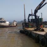 Le débarquement des marchandises – La situation actuelle